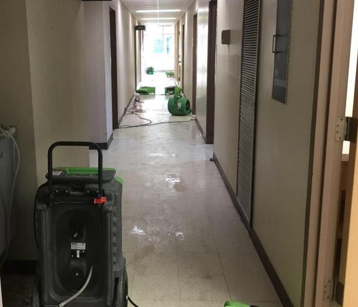 Storm Commercial Water Damage in San Antonio