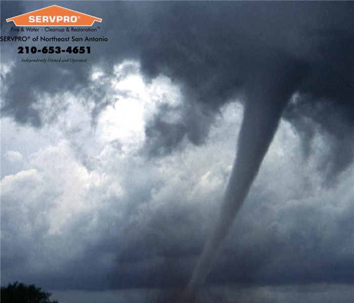 Storm Damage Tornado Tips from SERVPRO of Northeast San Antonio